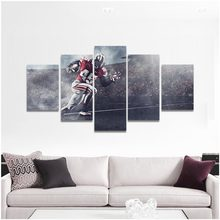 Ohio State Football Super Player Modern Art Silk Light Canvas Painting Print Posters Home Decor Wall 5pieces(China)