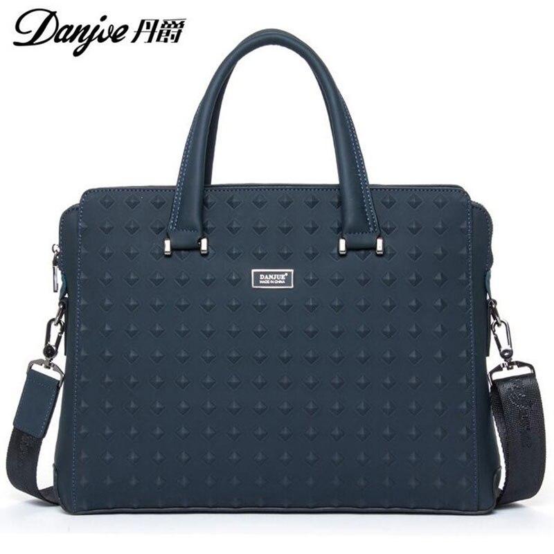 2016 DANJUE British Style For 14 Laptop Fashion Transverse Shoulder font b Bags b font High