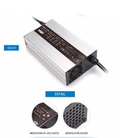 24V25A 36V18A 48V15A Lithium Li ion Battery fast Charger for Electric Scooter/Vehicle