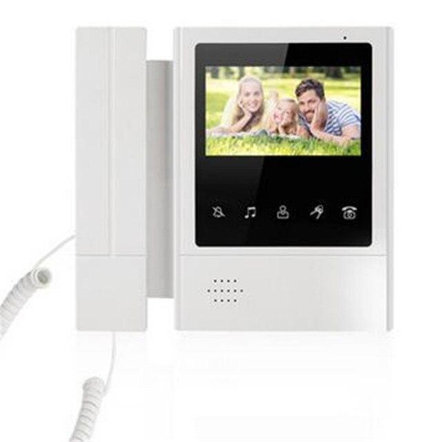 4.3 Inch LCD Display Two Way  Intercom  Water-proof Video Door Phone