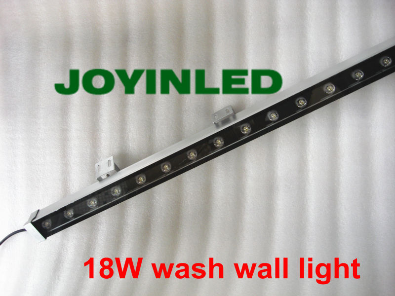 High-power 18W 24W Warm white/RGB IP65 waterproof outdoor led bar light LED Wall washer