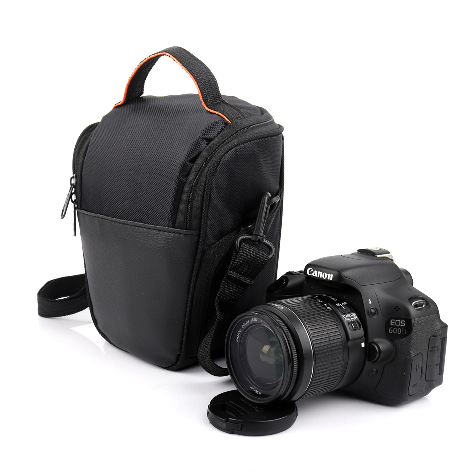 DSLR Camera Bag Photo <font><b>Case</b></font> For Panasonic <font><b>Lumix</b></font> DMC <font><b>LX7</b></font> LX100 LZ20 LZ35 GF8 GF7 GF6 Canon 750D 1300D 1100D 1200D 80D 70D T3i T4i image