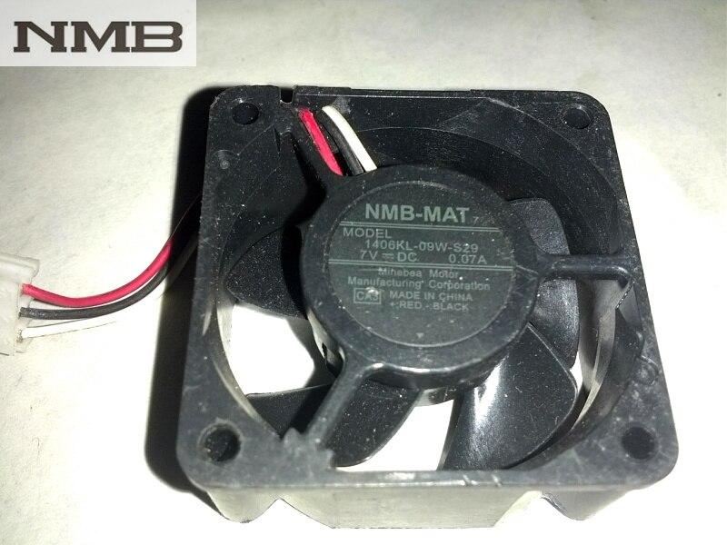 НМБ 1406kl-09w-s29 3.5 см 3515 DC 7 В 0.07a третья линия инвертор Сервер вентилятор охлаждения