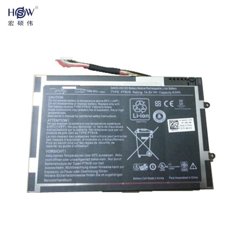 Original-akku 14,8 V 63WH Für Dell Alienware M11x R1 R2 R3 M14x...