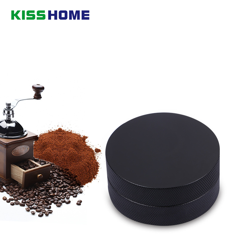 Matte Professional Espresso Wbc Stainless Steel Coffee Tamper Convex Slope Aluminum Alloy 58mm Adjustable Macaron Tampers