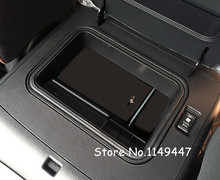 4pcs Black Inner Front Storage Box without Mad Cover For Infiniti QX56 Z62 11 13 QX80