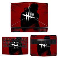 GOOYIYO Laptop Sticker For Alienware 13 ALW13C 2017 R3 Top Keyboard Bottom Full Vinyl Decal Cool Painting Skin For Alienware