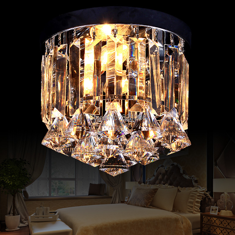 Crystal led modern brief art deco antique chinese style ceiling lamp light fixtures bedroom eichholtz бра primo large