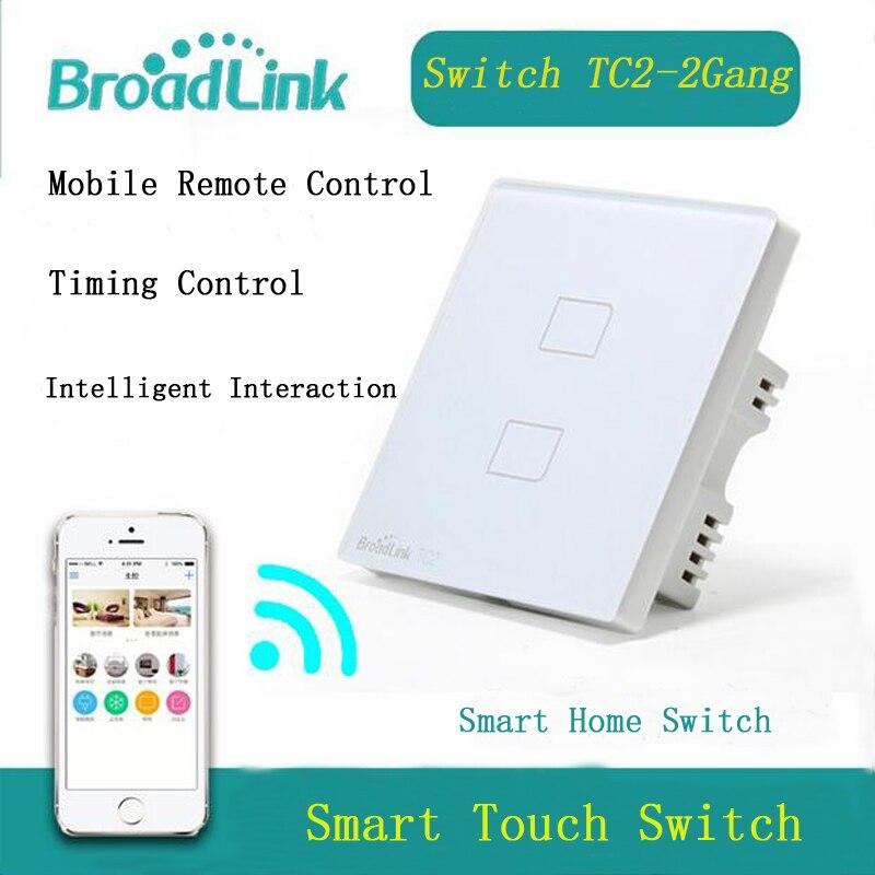 EU Broadlink TC2 2 banda pametni prekidač, mreža bežični - Pametna elektronika - Foto 2