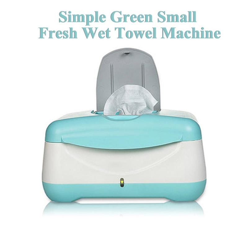 Baby Wipes Heater EU US Plug Simple Green Heating Wet Towe Dispenser
