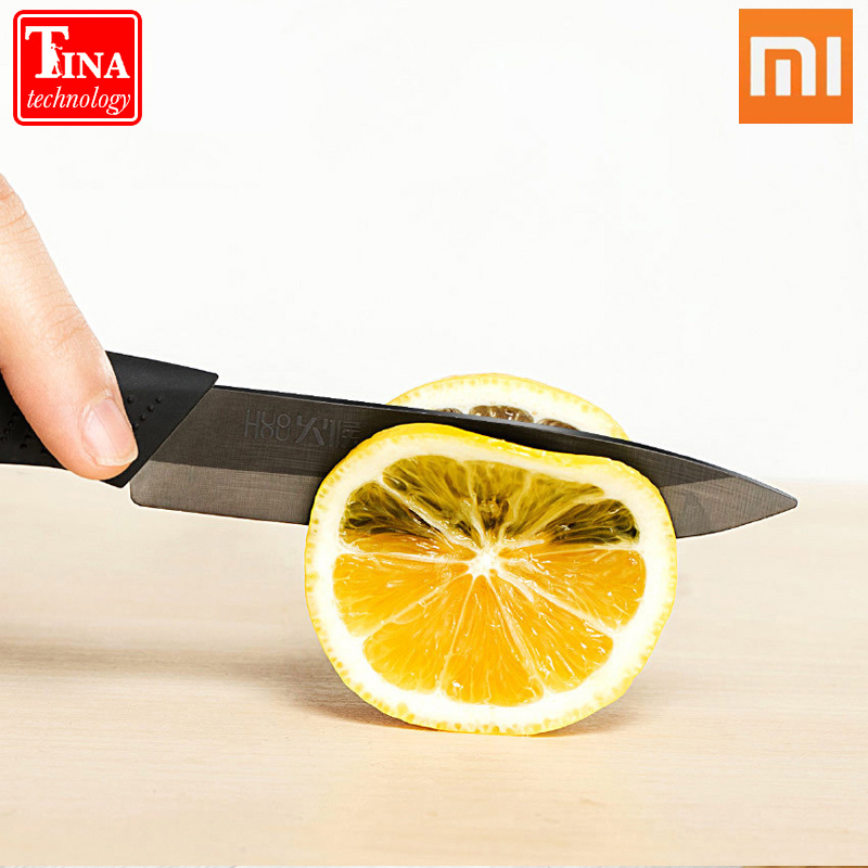 Original Xiaomi Mijia 4 Pcs Nano Ceramic Knife Huo Hou