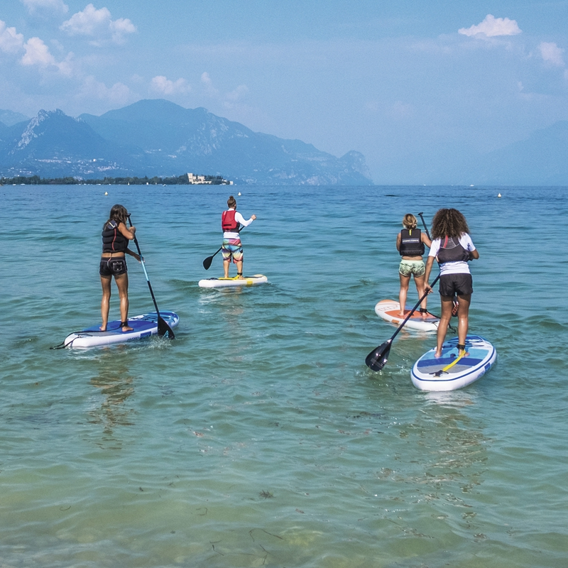 10ft gonflable tout rond SUP Stand Up Paddle Board océana pliable Surf Board large Board pour débutant Sports nautiques plage Fun