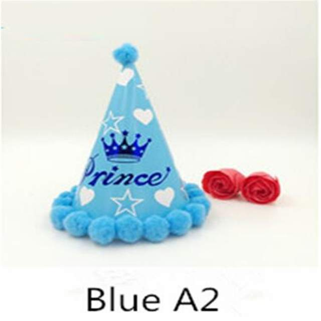 Baby Boy First Birthday Party Cap Decoration Christmas Decorations Kids