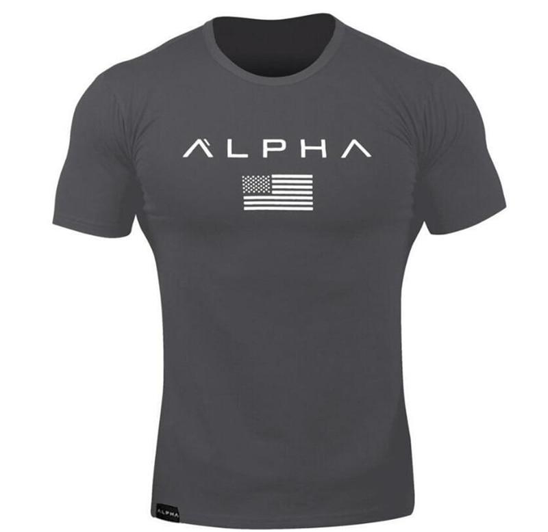 18 Mens Military Army T Shirt 17 Men Star Loose Cotton T-shirt O-neck Alpha America Size Short Sleeve Tshirts 18