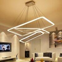 New Creative Modern LED Chandelier Lights Scrub Plexiglass Suspension Hanging Modeling Lamp For Dinning Room Chandelier