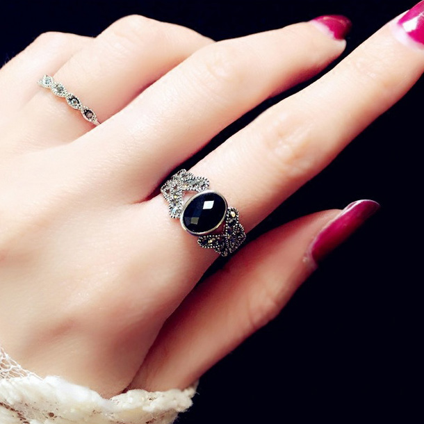 Fashion Vintage Cubic Zirconia Ring Small Oval Black Stone. Move Wedding Rings. Compression Engagement Rings. Circle Cut Wedding Rings. Modeling Rings. Wishbone Wedding Rings. Glow In Dark Rings. Custom Jewelry Engagement Rings. Triple Wedding Rings