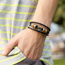 One Piece Leather Bracelet