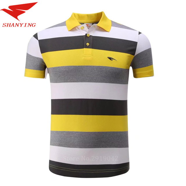 8c5dbaa3a 2017 New Golf Clothing Men's Golf Polo shirts Summer Breathable Elastic Golf  Short Sleeved Uniforms green pink YELLOW Plus Size