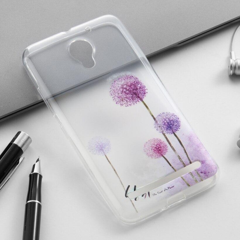 Cubierta Del Teléfono Celular Para Lenovo Vibe C2 K10A40 TPU Fundas Estuches Acc