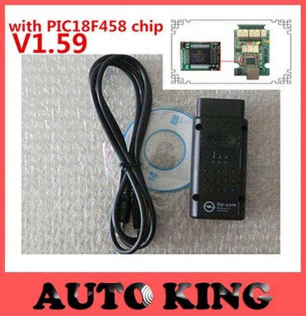 Профессиональный OBD2 OpCom с V1.59 PIC18F458 чип + новое видение: 120309A Последняя версия OPCOM для Opel инструмент