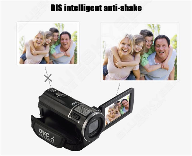 """ORDRO HDV-F5 1080P Digital Video Camera Max 24MP 16X Anti-shake 3.0"""" Touch Screen LCD Camcorder DV With Remote Controller 10"""