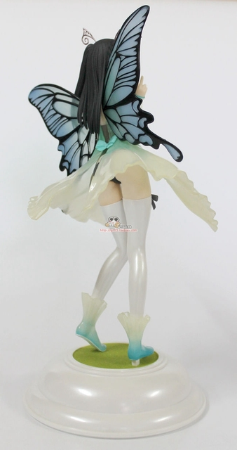 25cm Sexy Native Butterfly girl Action Figures PVC brinquedos Collection Figures toys for christmas gift