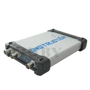 Image 2 - Mdso isds205a nova atualização 3 em 1 multifuncional 20m usb osciloscópio digital virtual + analisador de espectro gravador dados