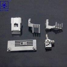 Q. X. YUN промышленные Запчасти для швейных машин калибровочный НАБОР ДЛЯ SIRUBA C007E-W122/CH guage набор E3827P/H4259/D4207/P0217/M4364