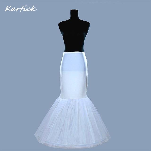 77fb9330c1c4 Hot Sale Mermaid Petticoats/slip 1 Hoop Bone Corset Elastic Waist Crinoline  Trumpet Petticoats In Stock Wedding Accessories