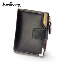 Wallet For Coin PU Leather Little Money Mini Zip Small Zipper For Men Change Coin Purse