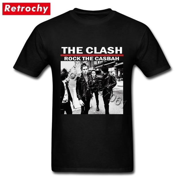 Custom Boy The Young Casbah Tee Shirts Clash Rock Short Designer ZiuwOkTlPX