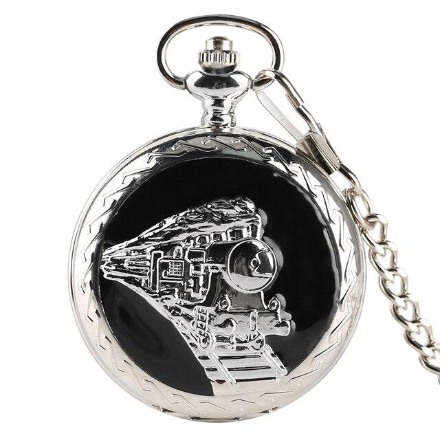 Antique Quartzo Relógio de Bolso Das Mulheres Dos Homens Forma De Trem Retro Hunter Completa Pingente Relógio Vintage Relógio Mini Brinquedo do Miúdo Presente de Natal