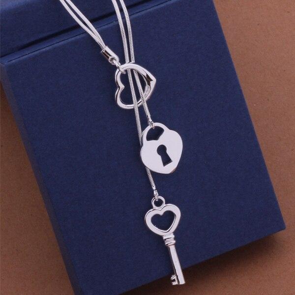 AN451 Hot 925 sterling silver bạc Vòng Cổ 925 bạc trang sức thời trang pendant/astajkaa axxajpea