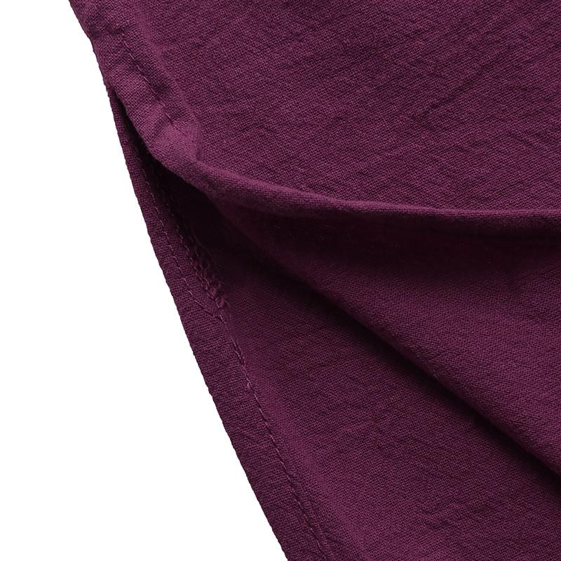 Women Vintage Maxi Long Dress 19 Celmia Summer Autumn Sexy V Neck Long Sleeve Split Casual Loose Linen Vestidos Kaftan S-5XL 20