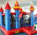 Saltando castillo hinchable castillo inflable puente gorila castillo gorila inflable con tobogán