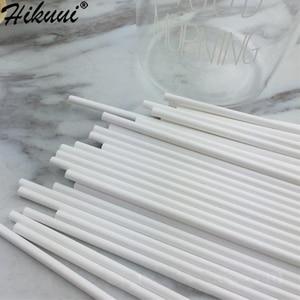Image 4 - 100pcs พลาสติกปลอดภัย Lollipop เค้ก POP Sucker Sticks สำหรับช็อกโกแลตลูกอมน้ำตาล Lollypop แม่พิมพ์ DIY เครื่องมือ 10/ 15/20 ซม.