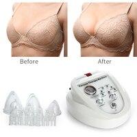 Вакуумный массажер увеличение насос подъема массажер для груди чашки и тела для коррекции для красоты устройства