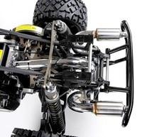 2 Hole Exhaust Pipe Silencer Power Riser Rear Bumper fit 1/5 ROVAN HPI BAJA RV KM 5B 5T