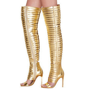 Golden Rome Style Platform High Boots Hot Selling Summer Shoes 2019 Fashion Women Sexy Sandals