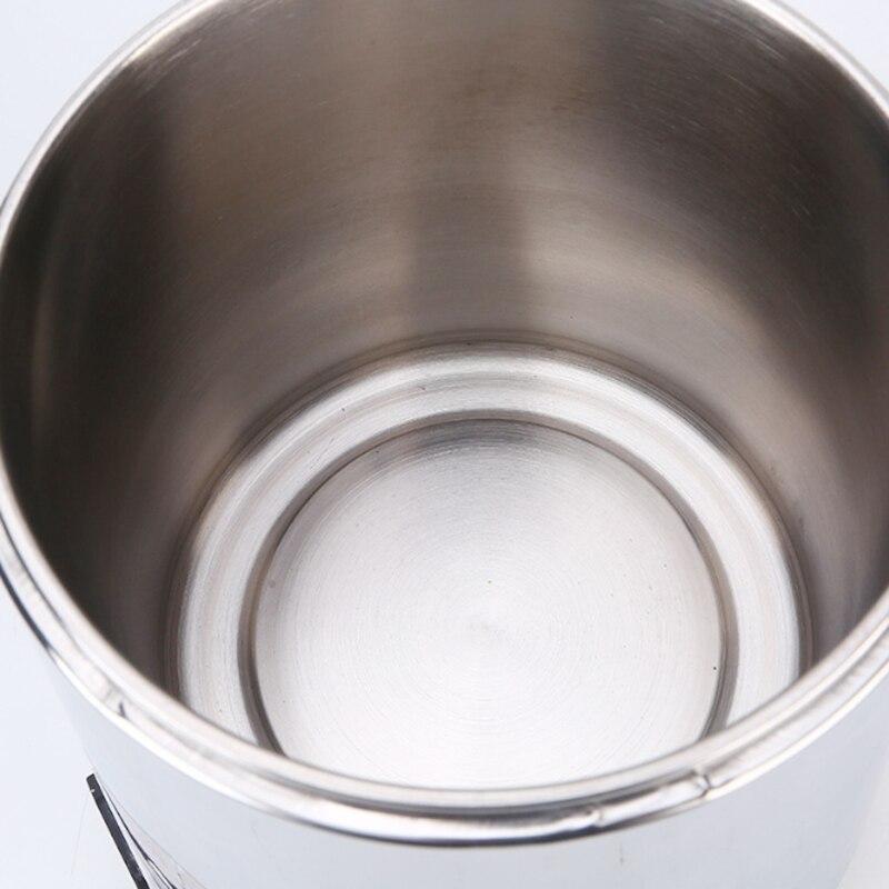 Бытовой дистиллятор чистой воды 4L машина дистиллированная вода Дистилляция Очиститель фильтр из нержавеющей стали стеклянная банка уголь... - 5