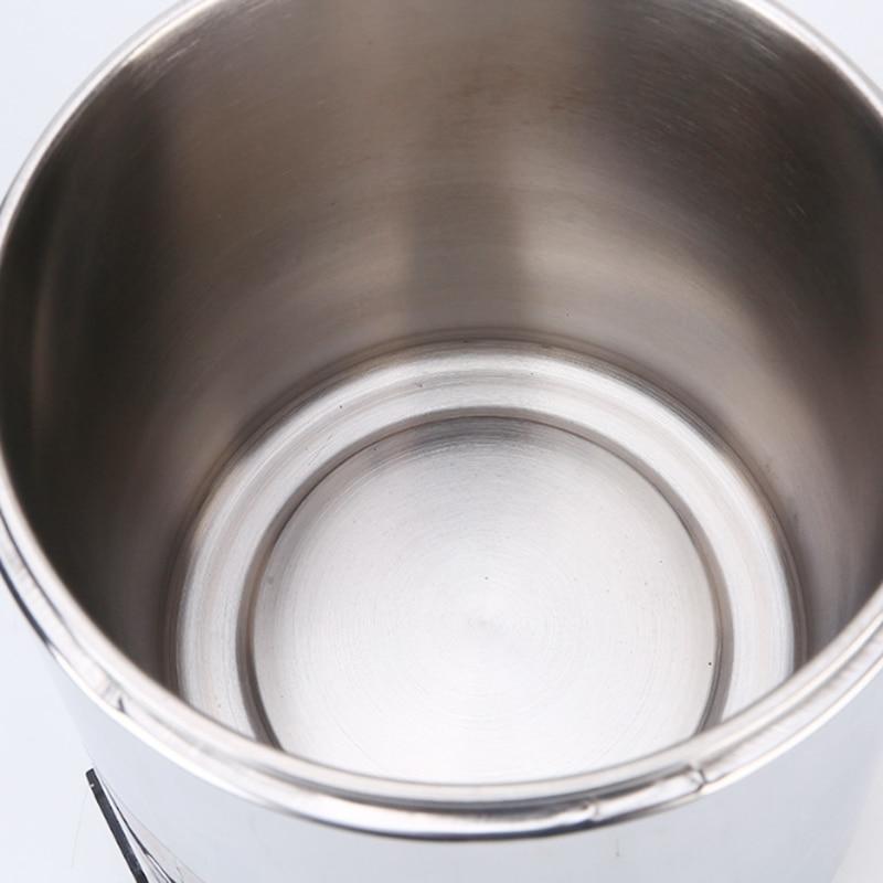 Household Pure Water Distiller 4L Machine Distilled Water Distillation Purifier Filter Stainless Steel Glass Jar Carbon Filter - 5