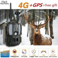 Gps FDD LTE новые Охотник Видео Камера Chasse Ловушка Охота цифровой Камера фото Trail дикий 4G фото ловушки охоты Камера камера