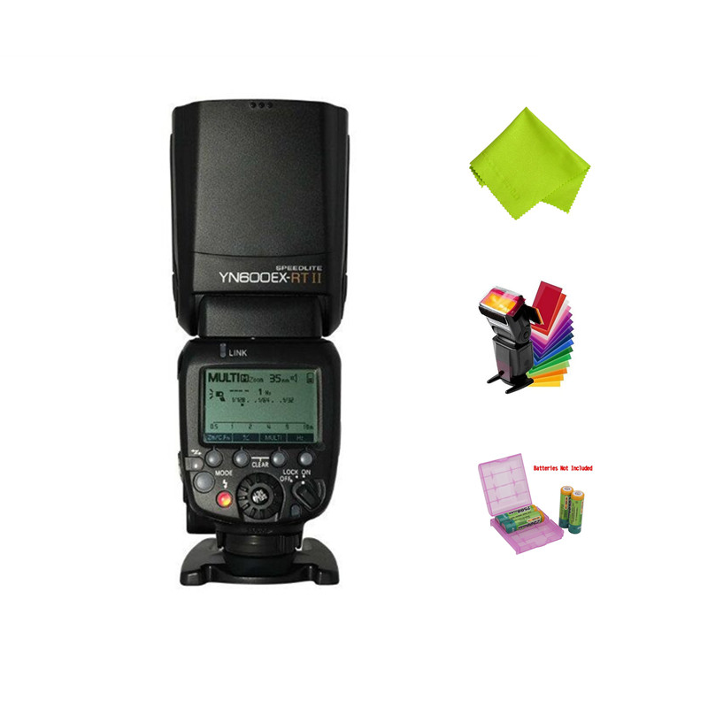 2017 YONGNUO YN600EX-RT II 2.4G Wireless HSS 1/8000s Master TTL Flash Speedlite for Canon Camera as 600EX-RT YN600EX RT II вспышка для фотокамеры yongnuo speedlite yn600ex rt canon 600ex rt 2 4g hss 1 8000s speedlite yn600ex rt