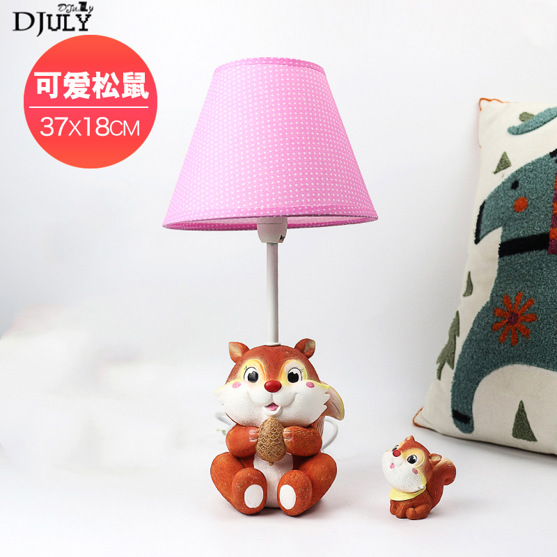 cartoon resin animal fabric kids led table lamp for study bedroom college dorm room bedside desk lamp home deco light fixturescartoon resin animal fabric kids led table lamp for study bedroom college dorm room bedside desk lamp home deco light fixtures