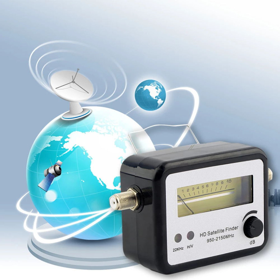 Digital Satellite Finder Meter LNB Digital TV Signal Satfinder For  Find Alignment Signal Of Receptor