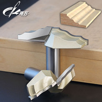 1PCS 1 2 Shank Chest Door Engraving Machine Milling Knife Wood Cutter Router Bits 3D Lace