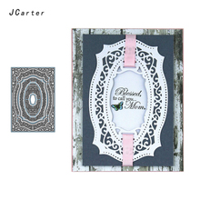 JC New Arrival Beautiful Pattern Frame Metal Cutting Dies for Scrapbooking DIY Embossing Folder Paper Handmade Album Stencils