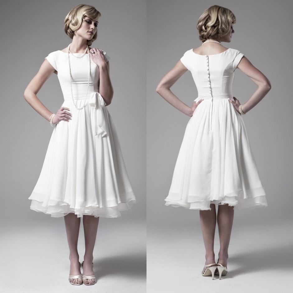 Popular Vintage 50s Wedding Dress-Buy Cheap Vintage 50s