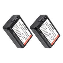 3Pcs 2000mAh NP-FW50 NP FW50 Battery AKKU+ LCD Dual Charger for Sony Alpha a6500 a6300 a7 7R a7R a7R II a7II NEX-3 NEX-3N NEX-5