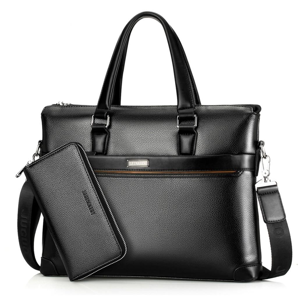 Office Shoulder Bags Tote Men Handbag Briefcase Shoulder Computer Business Bag Top Quality Set Handbag Laptop